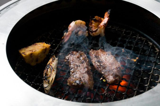 叙々苑の焼肉