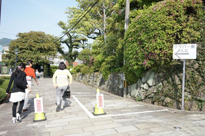 快晴の2015年5月2日、長崎